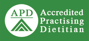Accredited Practicing Dietitian Badge